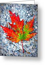 The Spirit Of Autumn Greeting Card