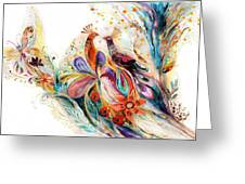 The Splash Of Life Series Pure White No 1 Greeting Card