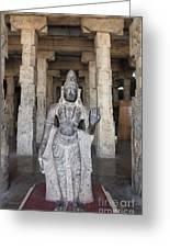 The Sri Meenakshi Temple Greeting Card
