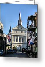 The St. Louis Cathedral Greeting Card