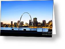 The St. Louis Skyline Greeting Card