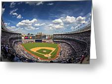 The Stadium Greeting Card
