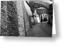 The Stairs Passage - Sibiu Greeting Card