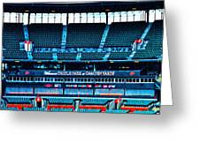 The Stands At Oriole Park Greeting Card