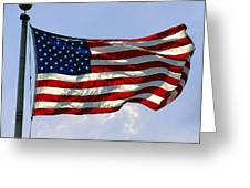 The Star Spangled Banner Greeting Card