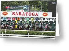 The Start At Saratoga Greeting Card