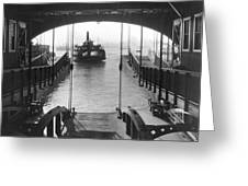 The Staten Island Ferry Greeting Card