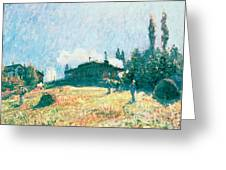 The Station At Sevres Greeting Card