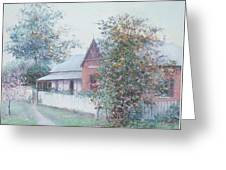 The Stationmaster's Cottage Greeting Card
