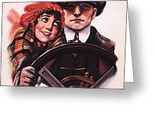 The Stewart Lever 1910s Usa Driving Greeting Card by The Advertising Archives