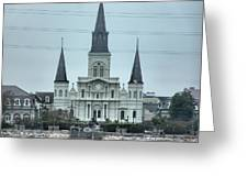 The St.louis Cathedral Greeting Card