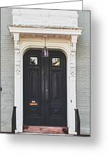 The Stockade Door In Schenectady New York Greeting Card by Lisa Russo