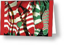 The Stockings Are Hung Greeting Card