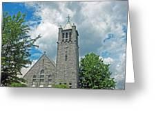 The Stone Church Greeting Card