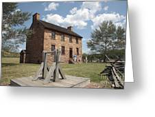The Stone House At Manassas Greeting Card