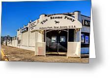 The Stone Pony Asbury Park New Jersey Greeting Card