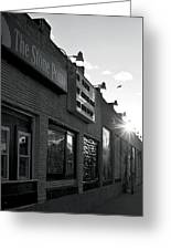 The Stone Pony Asbury Park Side View Greeting Card