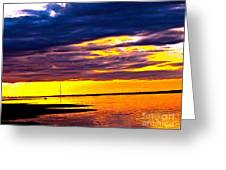 The Storm  Greeting Card by Q's House of Art ArtandFinePhotography