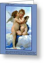 The Story Of Cupid And Psyche Greeting Card