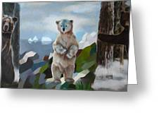 The Story Of The White Bear Greeting Card