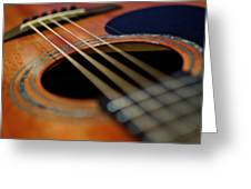 The Strings Of Life Greeting Card