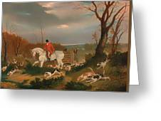 The Suffolk Hunt Greeting Card