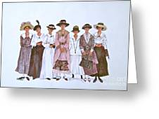 The Suffragettes Greeting Card