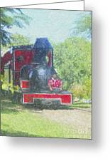 The Sugar Train Greeting Card