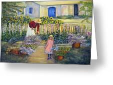The Summer Garden Greeting Card