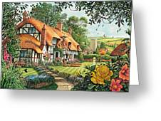 The Summer Thatchers Greeting Card