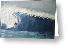 The Surfing Greeting Card
