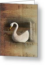 The Swan Planter Greeting Card