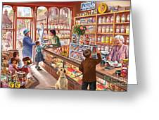 The Sweetshop Greeting Card