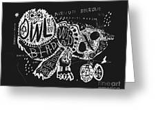 The Symbolic Image Of The Owl, Which Greeting Card