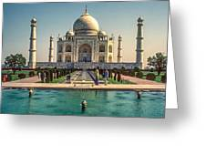 The Taj Maha Greeting Card