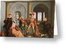 The Taming Of The Shrew Greeting Card