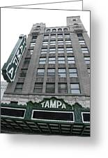 The Tampa Theatre Greeting Card