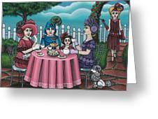 The Tea Party Greeting Card