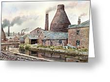 The Teapot Factory Greeting Card