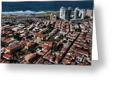 the Tel Aviv charm Greeting Card