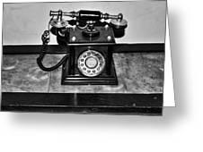The Telephone Greeting Card