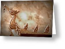 The Temple Dragon Greeting Card