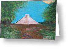 The Temple Of Kukulcan Greeting Card