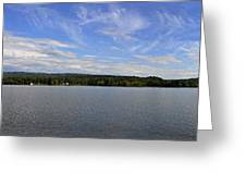 The Tennessee River In Alabama Greeting Card