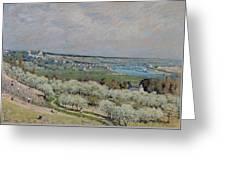 The Terrace At Saint Germain Greeting Card