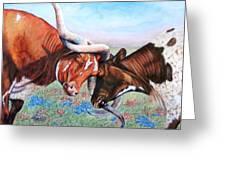 The Texas Twist Greeting Card