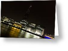 The Thames Downhill Greeting Card