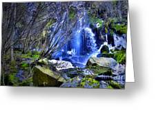The Thawing Falls Greeting Card