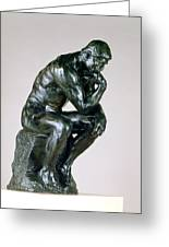 The Thinker, 1880-81 Greeting Card