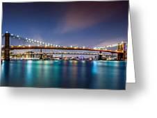 The Three Bridges Greeting Card